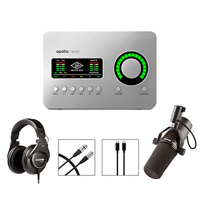 Shure Apollo Podcasting Bundle - Mac Only