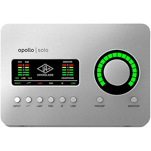 Apollo Solo Thunderbolt 3 Audio Interface