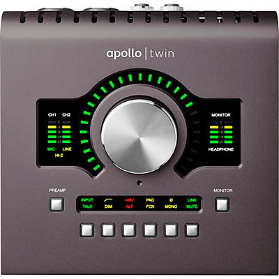 Universal Audio Apollo Twin MKII DUO Heritage Edition Thunderbolt Audio Interface