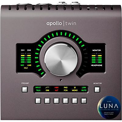 Universal Audio Apollo Twin MKII DUO Thunderbolt Audio Interface