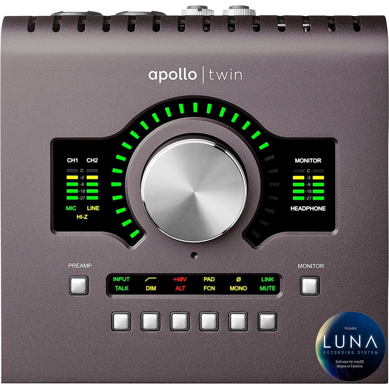 Universal Audio Apollo Twin MKII QUAD Thunderbolt Audio Interface