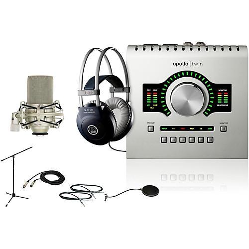 Universal Audio Apollo Twin SOLO M80 Recording Bundle