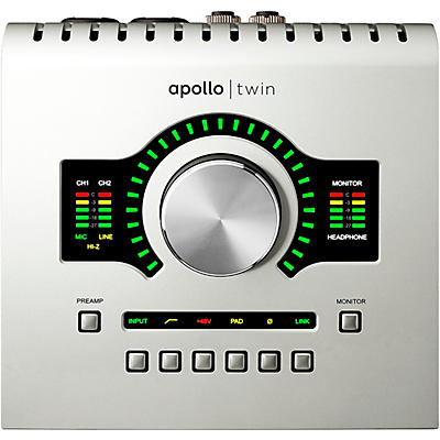 Universal Audio Apollo Twin USB Heritage Edition Desktop Interface With Realtime UAD-2 DUO Processing (Windows Only)