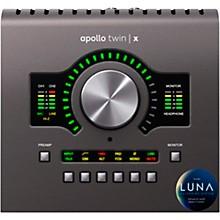 Open BoxUniversal Audio Apollo Twin X QUAD Thunderbolt 3 Audio Interface