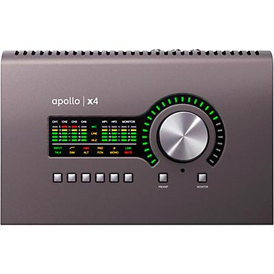 Universal Audio Apollo X4 Heritage Edition Thunderbolt 3 Audio Interface