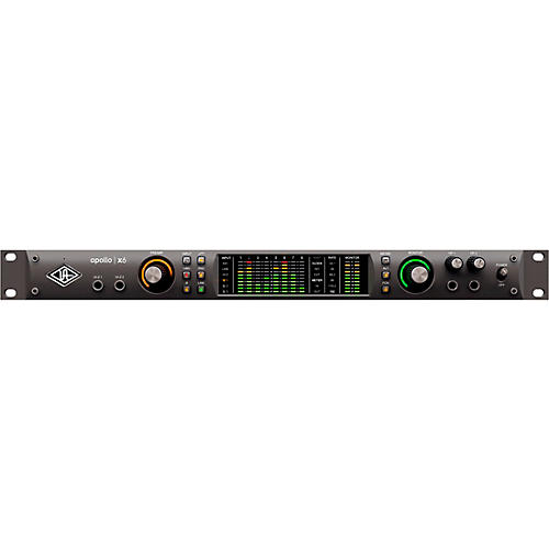 Universal Audio Apollo X6 Heritage Edition 6-Channel Thunderbolt Audio Interface With UAD DSP