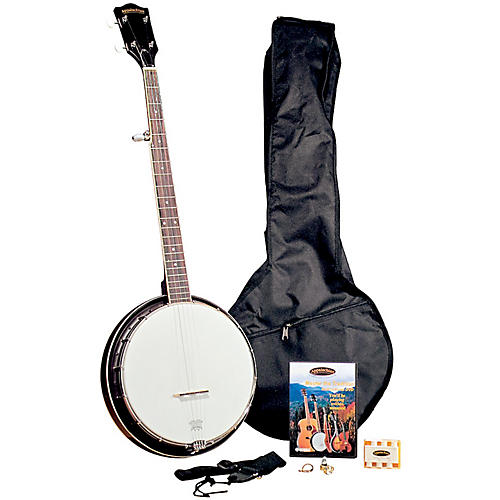 Regal Appalachian 5-String Banjo Pickin' Pack