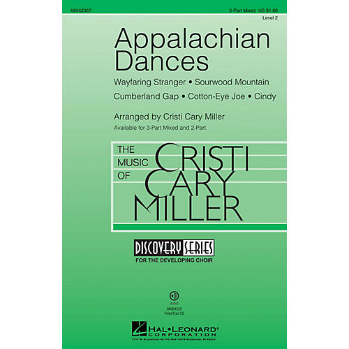 Hal Leonard Appalachian Dances (Discovery Level 2) 3-Part Mixed arranged by Cristi Cary Miller