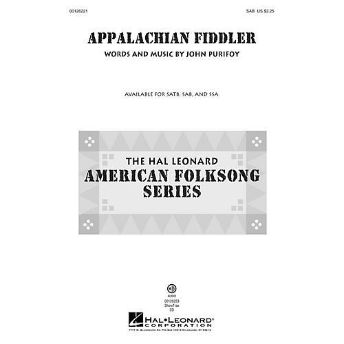 Hal Leonard Appalachian Fiddler SAB composed by John Purifoy