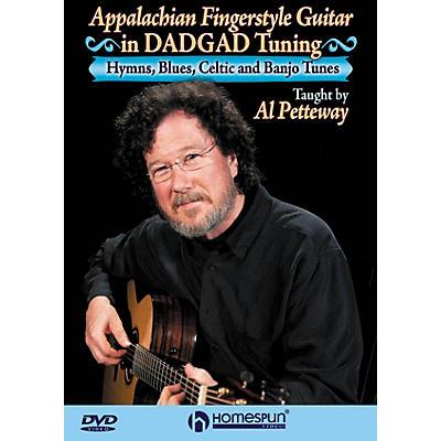 Homespun Appalachian Fingerstyle Guitar in DADGAD Tuning Homespun Tapes Series DVD Performed by Al Petteway