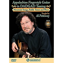 Homespun Appalachian Fingerstyle Guitar in DADGAD Tuning Homespun Tapes Series DVD Written by Al Petteway
