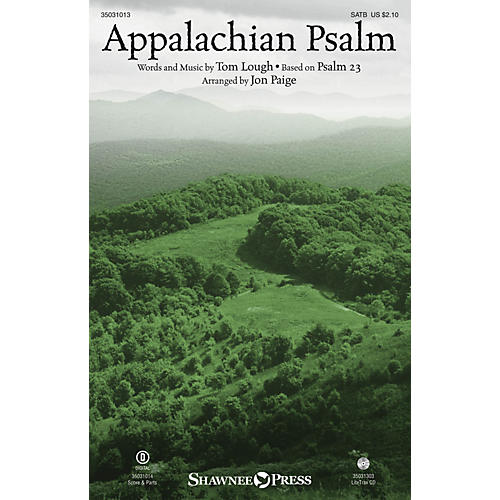 Shawnee Press Appalachian Psalm SATB arranged by Jon Paige