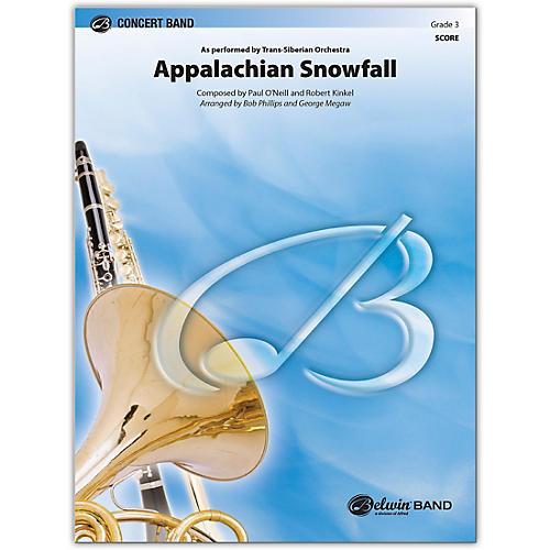BELWIN Appalachian Snowfall Conductor Score 3 (Medium Easy)
