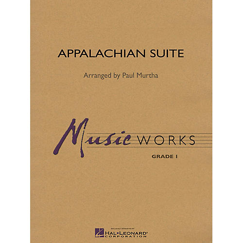 Hal Leonard Appalachian Suite Concert Band Level 1.5 Arranged by Paul Murtha