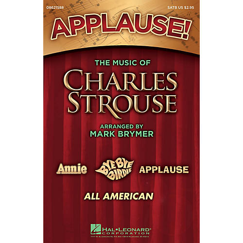 Hal Leonard Applause! - The Music of Charles Strouse (Medley) ShowTrax CD Arranged by Mark Brymer