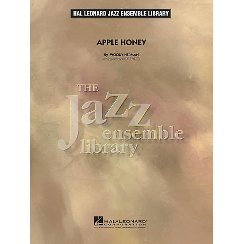 Hal Leonard Apple Honey Jazz Band Level 4 Arranged by Rick Stitzel