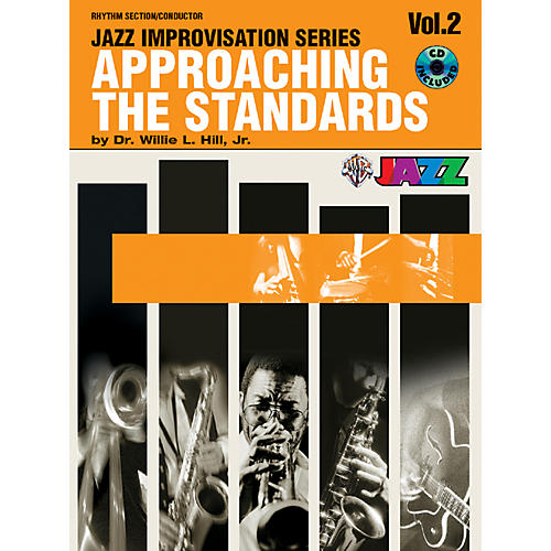 Alfred Approaching the Standards Volume 2 Rhythm Section / Conductor Book & CD