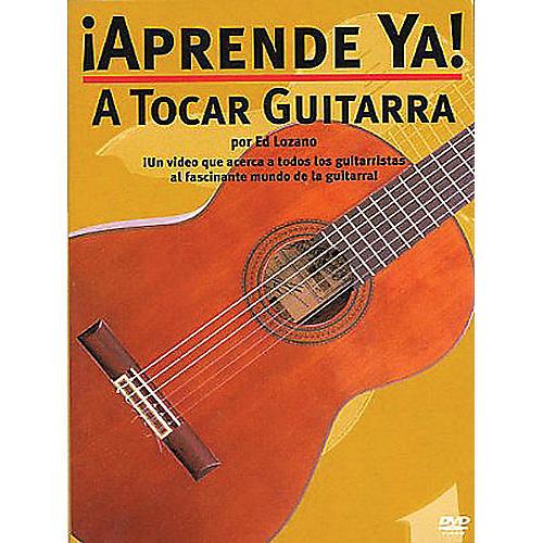 Music Sales ¡Aprende Ya! - A Tocar Guitarra Music Sales America Series DVD Written by Ed Lozano
