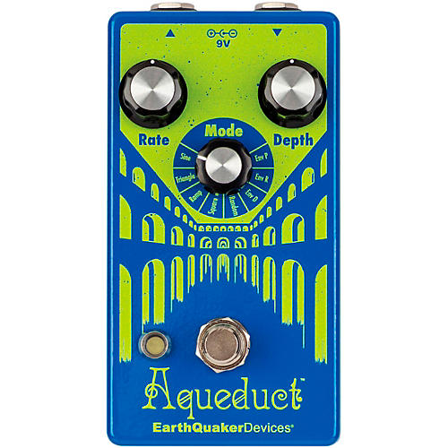 EarthQuaker Devices Aqueduct Limited-Edition Vibrato Effects Pedal