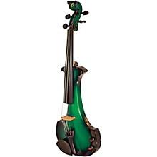Aquila Series 4-String Electric Violin Black-Green