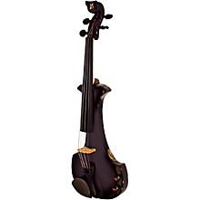 Aquila Series 4-String Electric Violin Black