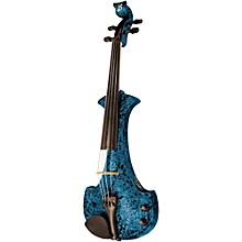 Aquila Series 4-String Electric Violin Blue Marble