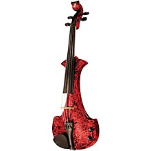Aquila Series 4-String Electric Violin Red Marble