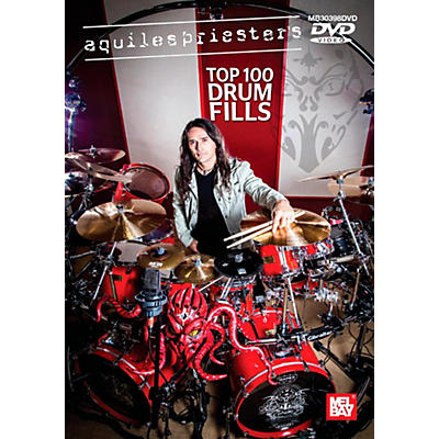 Mel Bay Aquiles Priester's Top 100 Drum Fills DVD