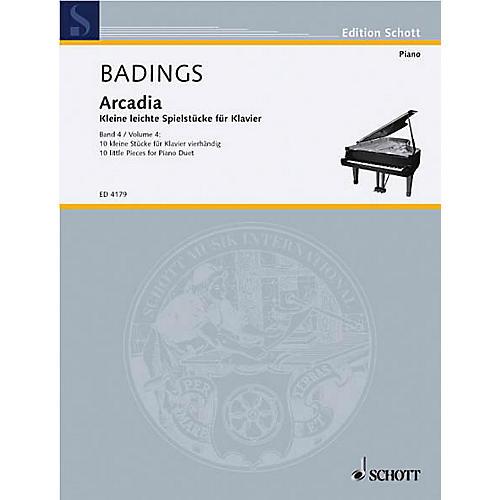 Schott Arcadia - Volume 4 (10 Little Pieces for Piano) Schott Series