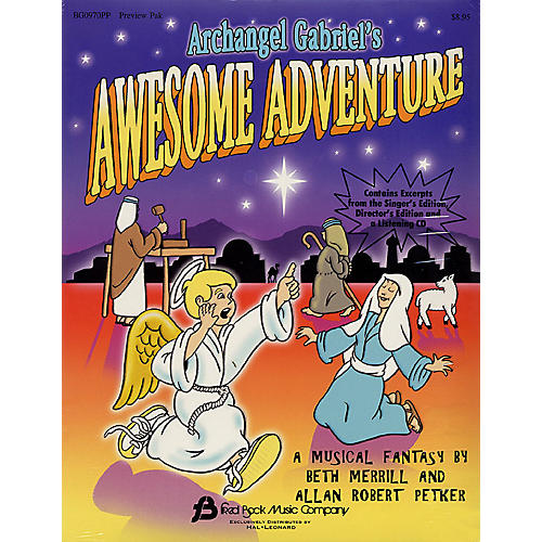 Hal Leonard Archangel Gabriel's Awesome Adventure (Sacred Musical) Preview Pak composed by Alan Robert Petker