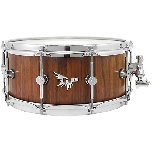 hendrix drums archetype series american black walnut stave snare drum 14 x 6 in satin finish. Black Bedroom Furniture Sets. Home Design Ideas