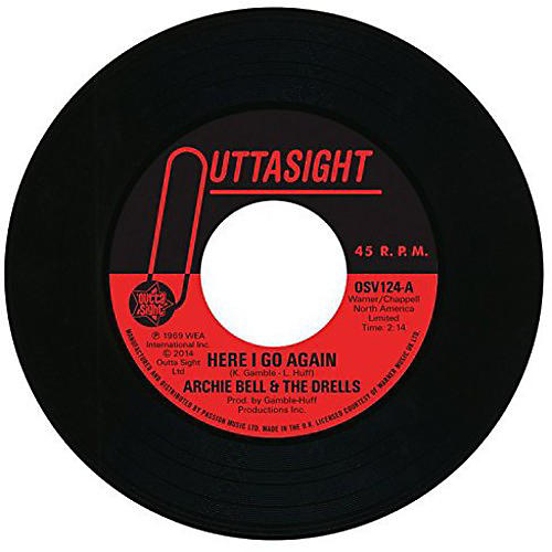 Alliance Archie Bell & the Drells - Here I Go Again / Tighten Up
