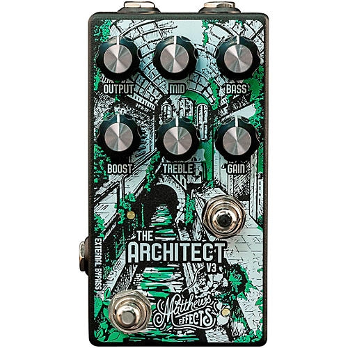 Matthews Effects Architect V3 Overdrive and Boost Effects Pedal