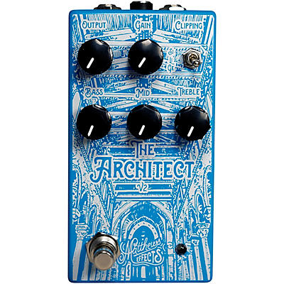 Matthews Effects Architect v2 Foundational Overdrive Effects Pedal