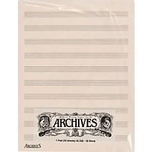 Blank Staff Paper & Tablature | Musician's Friend
