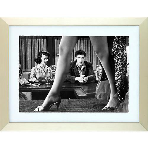Elvis Presley Enterprises Are You Lonesome Tonight Elvis Print
