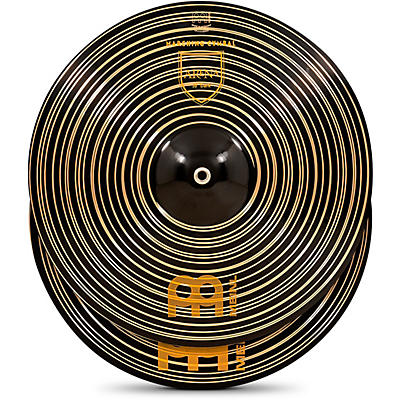 Meinl Arena Dark Marching Cymbal Pair with Straps