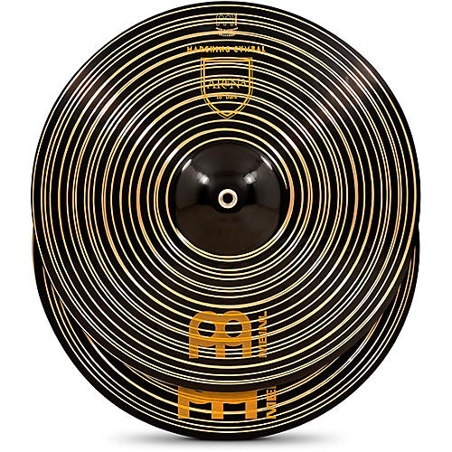 Meinl Arena Dark Marching Cymbal Pair with Straps 18 in.