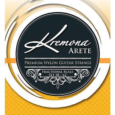 Kremona Arete Premium Nylon Guitar Strings Fractional Scale Set 58-62