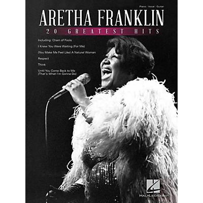 Hal Leonard Aretha Franklin 20 Greatest Hits
