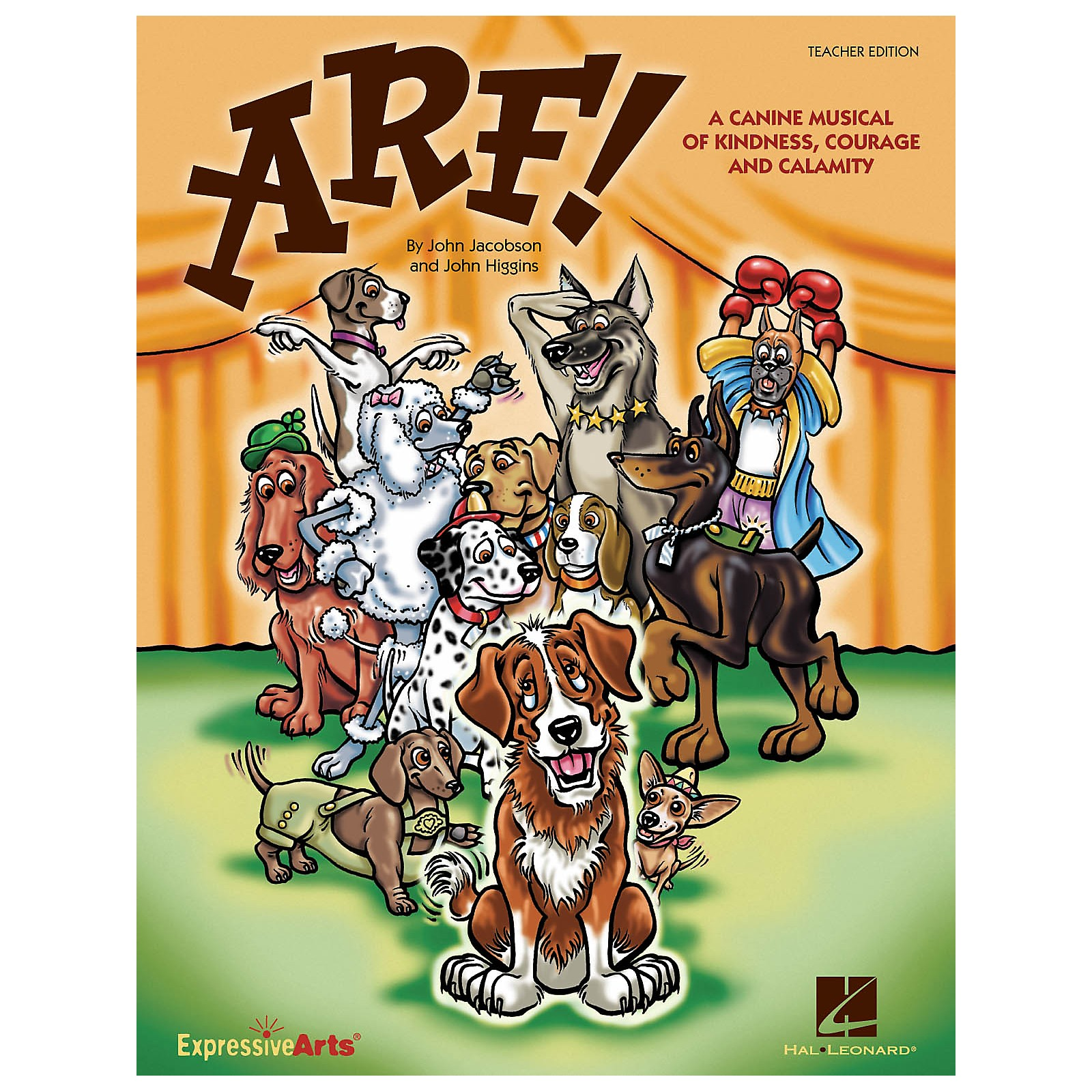 Hal Leonard Arf! (A Canine Musical of Kindness, Courage and Calamity) REPRO PAK Composed by John Higgins