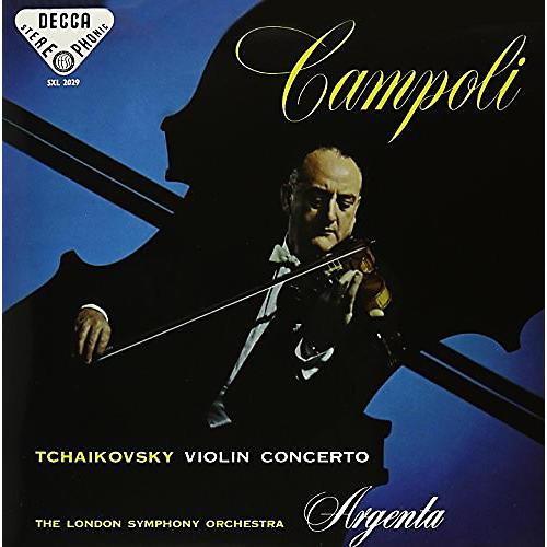 Alliance Argenta Campoli - Tchaikovsky: Violin Concerto In D Major Op 35