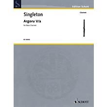 Schott Argoru Va for Bass Clarinet Woodwind Solo Series Softcover