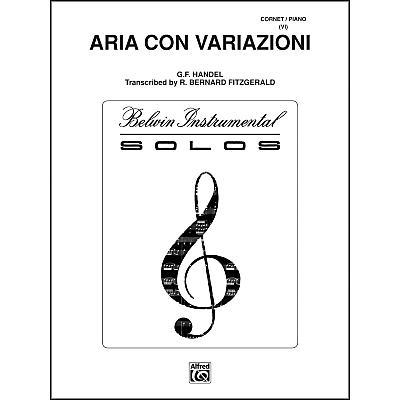Alfred Aria Con Variazioni Trumpet Solo
