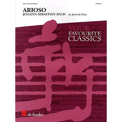 De Haske Music Arioso (Concert Band) Concert Band Level 2 Composed by Johann Sebastian Bach Arranged by Jacob de Haan
