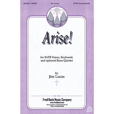 Fred Bock Music Arise! BRASS Composed by Jim Lucas