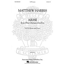 Associated Arise (SSATB and Piano (w/Soloists)) SSATB composed by Matthew Harris