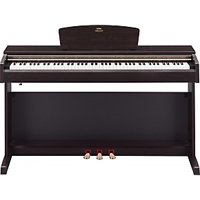 yamaha arius ydp161 88 key digital piano with bench rosewood finish musician 39 s friend. Black Bedroom Furniture Sets. Home Design Ideas