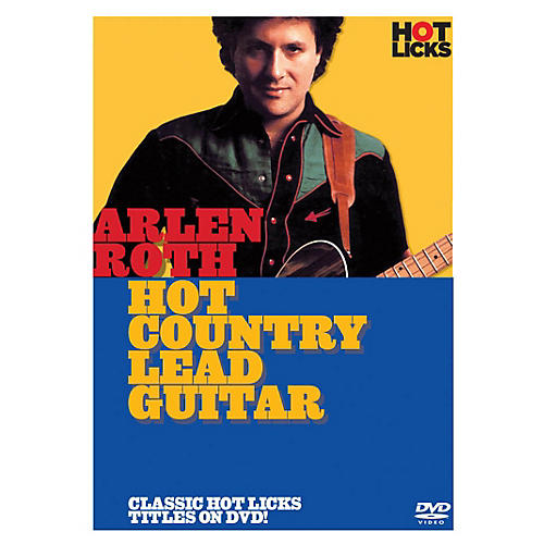 Music Sales Arlen Roth - Hot Country Lead Guitar Music Sales America Series DVD Written by Arlen Roth