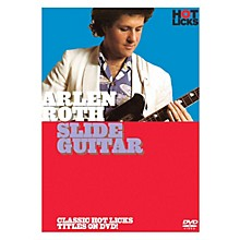 Music Sales Arlen Roth - Slide Guitar Music Sales America Series DVD Written by Arlen Roth